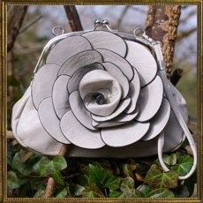 Apple Blossom bag - grey