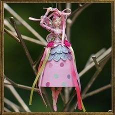 Fairy Ballerina - ribbon stick